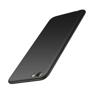 WEIKA Baby Skin Ultra Thin Hardcase Casing for OPPO F3 or A77 - Black