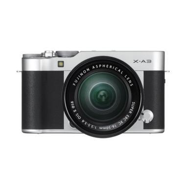 Fujifilm X-A3 Kit 16-50mm OIS II Kamera Mirrorless - Silver