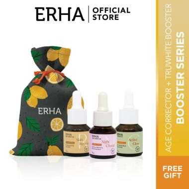 harga ERHA Paket Anti-Aging & Brightening Booster Series - Awet Muda Cerah Berseri Blibli.com