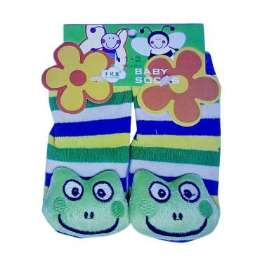 Mom Rattle Frog Kaos Kaki