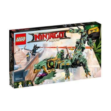 LEGO The Ninjago Movie 70612 Green  ... agon Mainan Blok & Puzzle