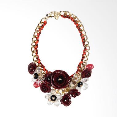 Jack 16 Necklace Aksesoris Wanita - Red