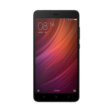 Xiaomi RedmiNote 4 Smartphone - Black [32GB/3GB/Garansi Resmi TAM]