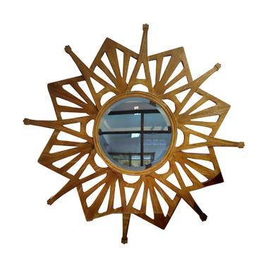 Hermosa Home Decor Raflesia Cermin Dinding Hias