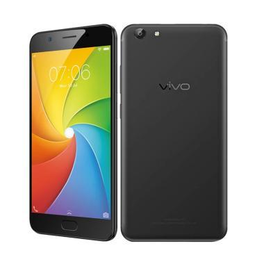 Vivo Y69 Smartphone - Black Matte [32 GB/3 GB/Garansi Resmi 1 Tahun]