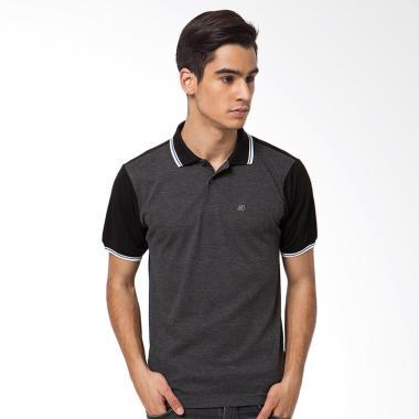 A&D Fashion Mens Polo Shiort - Grey MS 628A