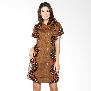 Batik Arjunaweda Women 19131057 Sac ... Alur Parang Dress - Merah