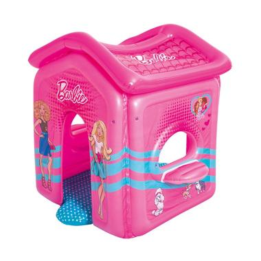Bestway 93208 Play House Barbie Tenda Angin Rumah Mainan Anak [150 cm]
