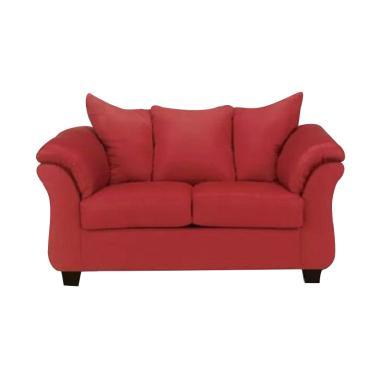 Ivaro Gadang Sofa 2 Seater - Red
