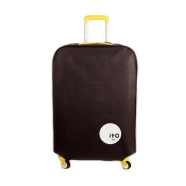 ITO Luggage Cover Pelindung Koper - Brown [24 Inch]