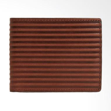 Fossil ML 3750201 Avery Bifold Wallet Dompet Wanita - Dark Brown