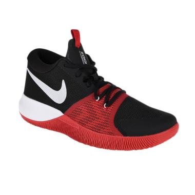 NIKE Men Basketball Zoom Assersion Sepatu Basket Pria [917505-006]