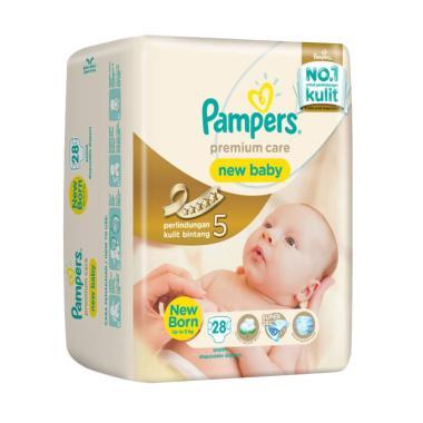 Pampers Premium Active Baby Tape Newborn 28 Popok Bayi