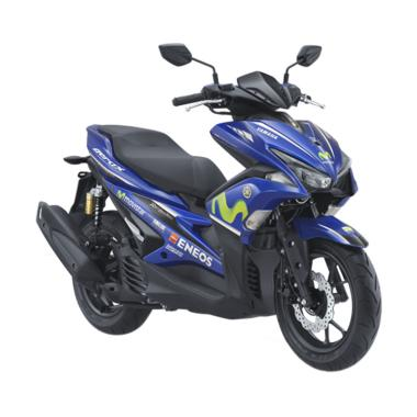 Yamaha Aerox 155 VVA R Movistar Sepeda Motor [VIN 2019/ OTR Sumatera Utara]