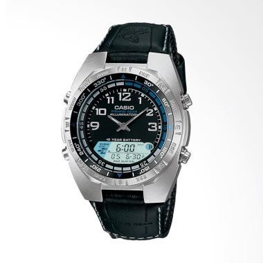 Casio Men's Ana-Digi Forester Fishing Timer Watch Jam Tangan Pria AMW700B-1AV