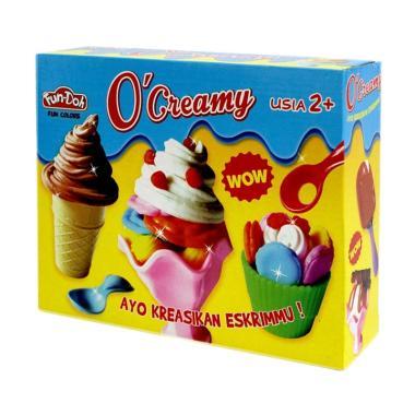 Fun Doh Plastisin O Creamy Mainan Anak