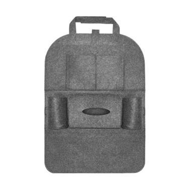 TokoLinggauCom Car Seat Organizer Tas Mobil Multifungsi - Grey