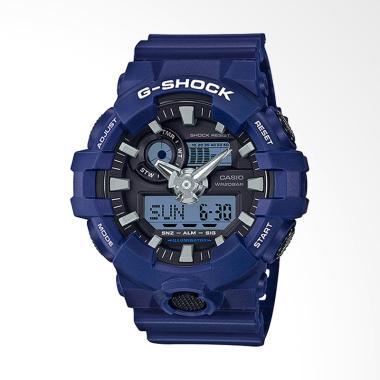 CASIO G-SHOCK [GA-700-2ADR] Jam Tangan Pria - Blue