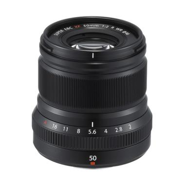 harga Fujifilm Fujinon Lens XF 50mm F2 R WR Lensa Kamera - Black Blibli.com