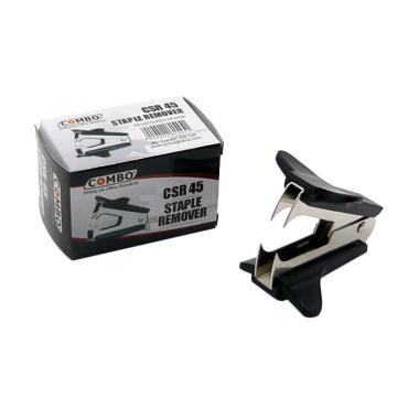 Combo SR 45 Stapler Remover Pembuka Staples - Hitam