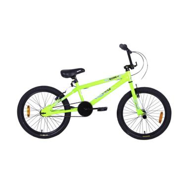 United Roouse 01 Besi Sepeda BMX - Lime [20 Inch]