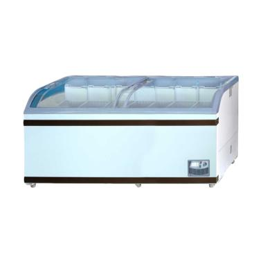 GEA GETRA SD-700BY Sliding Curve Glass Freezer [Jabodetabek]