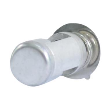 Raja Motor H6 LED (DC) Cover Silver ... 9-CoverSilver-NyalaPutih]