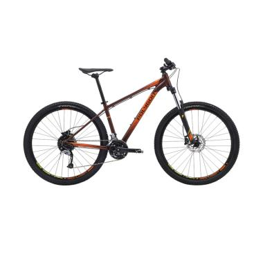 Polygon Premier 5 R Sepeda MTB - Brown/Orange [27.5/18 Inch]