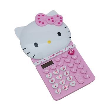 Kalkulator Basic HK-7165 Karakter Hello Kitty