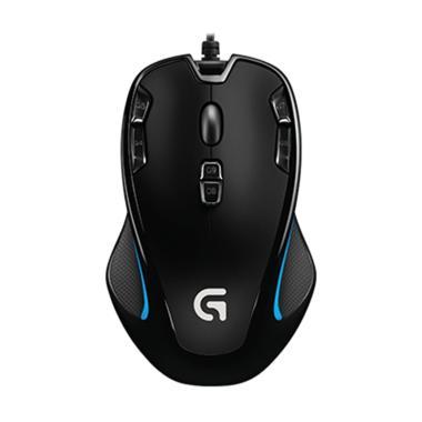 Logitech Original G300s Gaming Mouse - Hitam