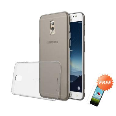 OEM Ultra Thin Softcase Casing for  ... abu + Free Tempered Glass