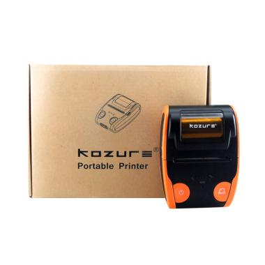 Printer Bluetooth Portable KOZURE BP806 Mini Thermal Orange