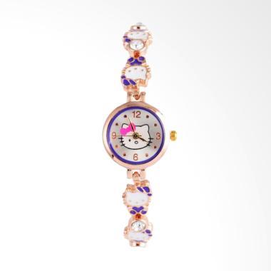 Hello Kitty WAT1516P Cute Cartoon Jam Tangan Anak - Purple