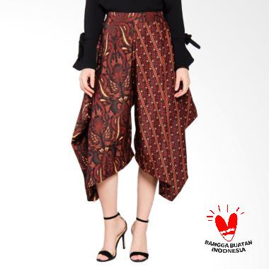 MORETOSEE Segitiga Celana Batik Wanita - Coklat