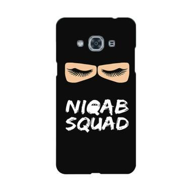 Premiumcaseid Hijab Jet Black Niqab ... for Samsung Galaxy J3 Pro