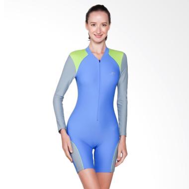 OPELON Terusan Pakaian Renang Wanita - Royal Blue [09.1480.001.16.RB]