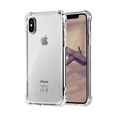 OEM Anti Crack TPU Casing for iPhone X - Transparan