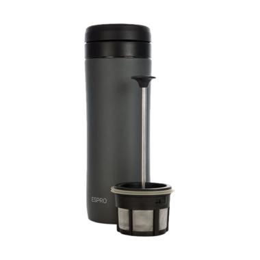 Espro Coffee Travel Press Tumbler - Gunmetal Grey