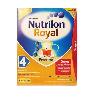 Nutrilon Royal Soya 4 Vanila Susu Formula [350 g]