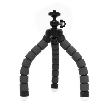 Godric Spider Mini Flexible Tripod  ...  Yi/BRICA & GoPro - Hitam