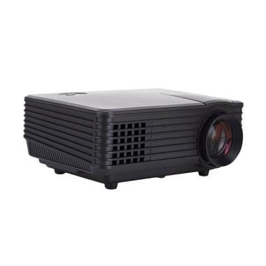 Tokuniku 805 HD Mini LED Projector with TV Tunner - Black