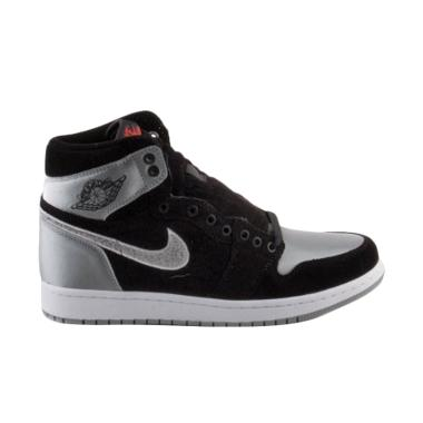 NIKE Men Air Jordan 1 Aleali May Sh ... - Black Grey [AJ5991-062]
