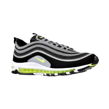 NIKE Men Air Max 97 Sepatu Sneakers - Black Silver [921826-004]