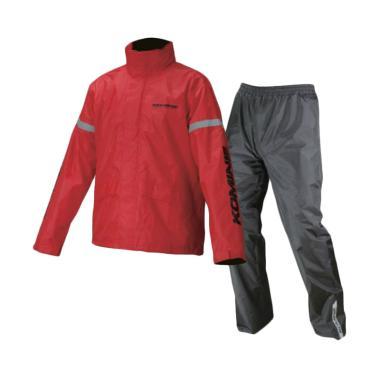 KOMINE RK-543 STD Rainwear Jas Hujan Setelan - Red