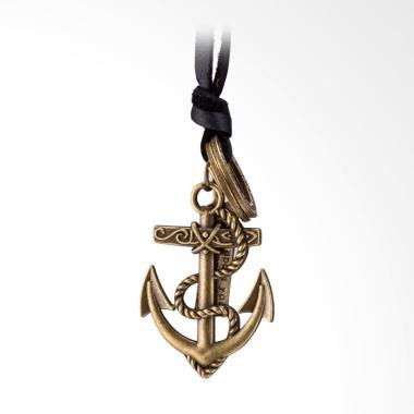 SOXY FSN338-A New Fashion Jewelry P ... o Anchor Pendant Necklace