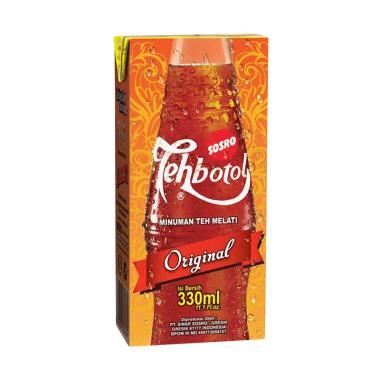 Sosro Teh Botol Tetra Pack [330 mL/3PCS]