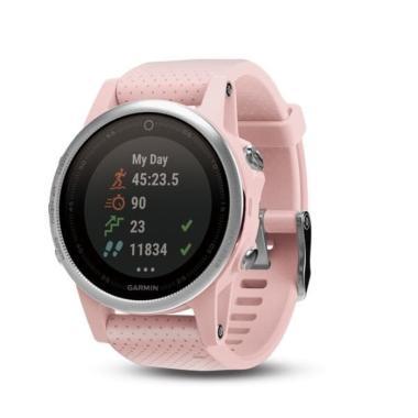 Garmin Fenix 5S Sapphire Smartwatch - Pink