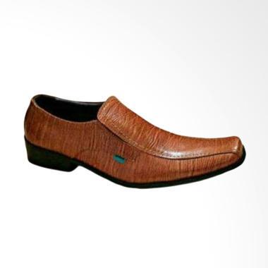 Kickers Formal Sepatu Pantofel Pria - Coklat