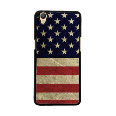 Flazzstore American Flag 3 O0232 Custom Casing for Oppo Neo 9 A37