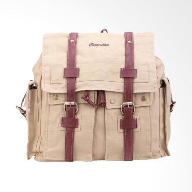Raindoz Backpack Wanita - Cream
